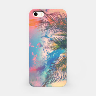 Silvery Skies iPhone Case Bild der Miniatur