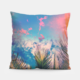 Thumbnail image of Silvery Skies Pillow, Live Heroes