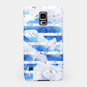 Miniaturka Marble Stripes Samsung Case, Live Heroes