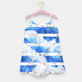 Miniaturka Marble Stripes Girl's dress, Live Heroes