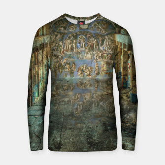 Apocalyptic Vision of the Sistine Chapel Rome 2020 Cotton sweater imagen en miniatura