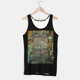 Miniaturka Apocalyptic Vision of the Sistine Chapel Rome 2020 Tank Top regular, Live Heroes