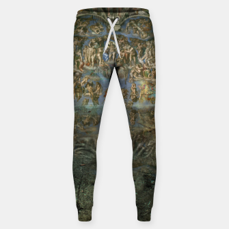 Apocalyptic Vision of the Sistine Chapel Rome 2020 Cotton sweatpants imagen en miniatura