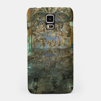 Miniaturka Apocalyptic Vision of the Sistine Chapel Rome 2020 Samsung Case, Live Heroes