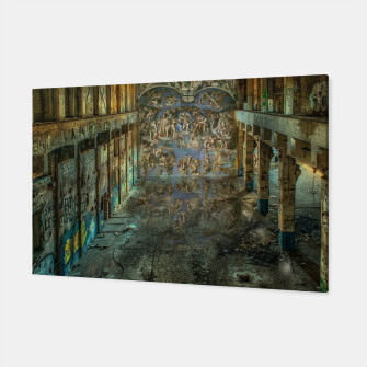 Apocalyptic Vision of the Sistine Chapel Rome 2020 Canvas imagen en miniatura