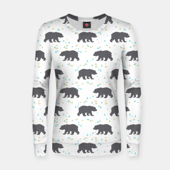 Imagen en miniatura de Forest Bear Woman cotton sweater, Live Heroes