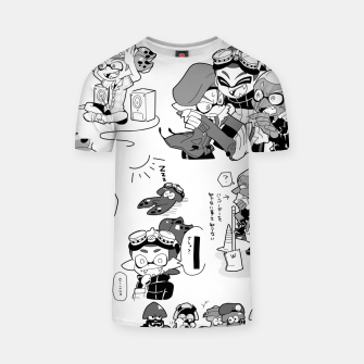 Thumbnail image of Splatoon T-shirt, Live Heroes