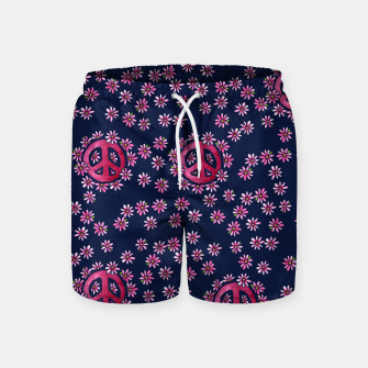 Thumbnail image of Peace Swim Shorts, Live Heroes