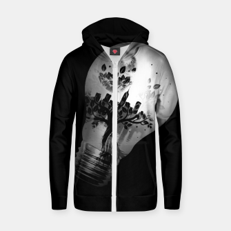 Thumbnail image of CityBulb Cotton zip up hoodie, Live Heroes