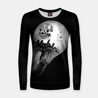 Thumbnail image of CityBulb Woman cotton sweater, Live Heroes