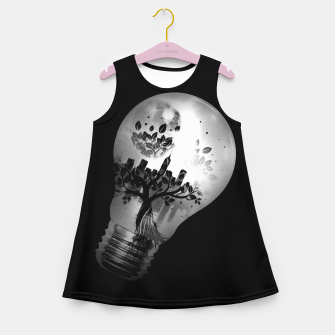 Miniatur CityBulb Girl's summer dress, Live Heroes