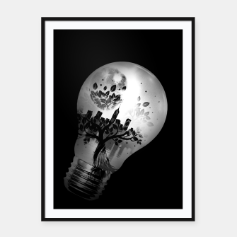 Thumbnail image of CityBulb Framed poster, Live Heroes