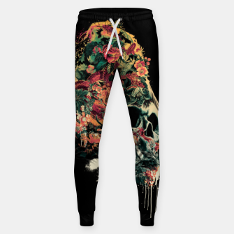 Snake and Skull Cotton sweatpants thumbnail image
