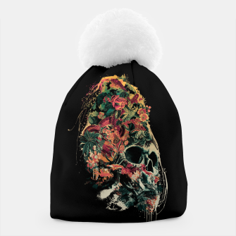 Thumbnail image of Snake and Skull Beanie, Live Heroes