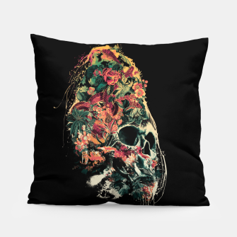 Thumbnail image of Snake and Skull Pillow, Live Heroes