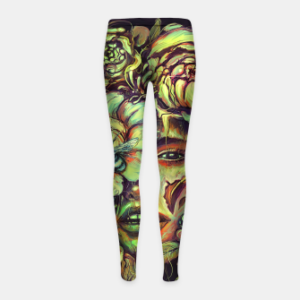 Thumbnail image of Pollinate Girl's leggings, Live Heroes