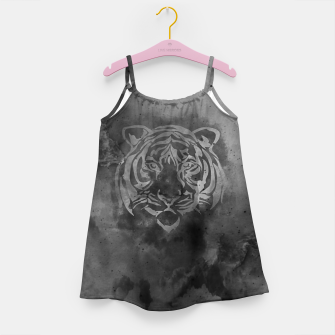 Miniaturka Grey tiger Girl's dress, Live Heroes