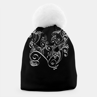 Miniatur Royal Tribal Heart Beanie, Live Heroes
