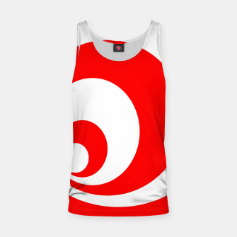 Abstract pattern - red and white. Tank Top imagen en miniatura