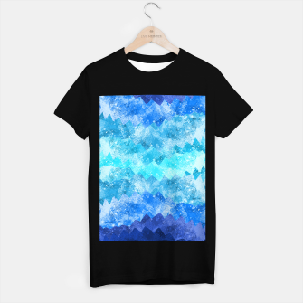 Miniaturka The blue sea waves T-shirt regular, Live Heroes
