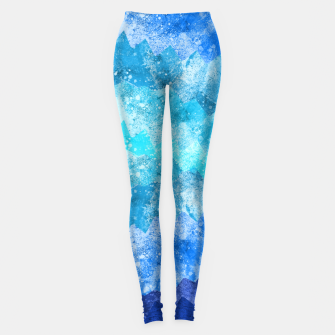 Imagen en miniatura de The blue sea waves Leggings, Live Heroes