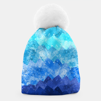 Miniatur The blue sea waves Beanie, Live Heroes