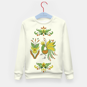 Miniatur Folklore Rooster - Eivor - Kid's sweater, Live Heroes