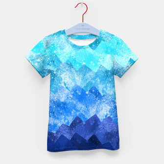 Imagen en miniatura de The blue sea waves Kid's t-shirt, Live Heroes