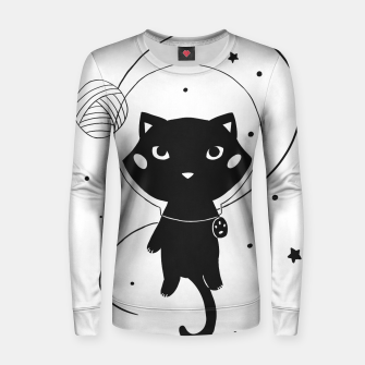Imagen en miniatura de Space Cat Woman cotton sweater, Live Heroes