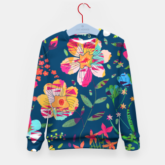 Miniatur Paper Floral Kid's sweater, Live Heroes