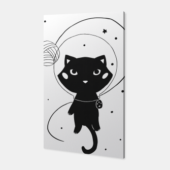 Miniaturka Space Cat Canvas, Live Heroes
