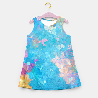 Miniatur Laura Girl's summer dress, Live Heroes