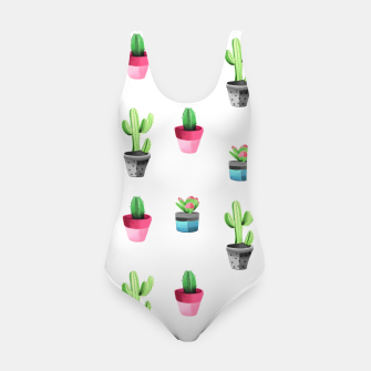 Miniaturka Watercolor Cactus  Swimsuit, Live Heroes