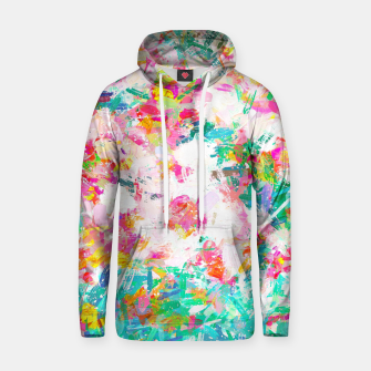 Thumbnail image of Painted Joy Cotton hoodie, Live Heroes
