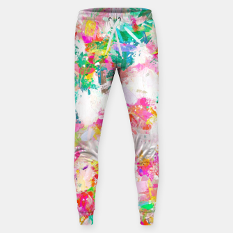 Thumbnail image of Painted Joy Cotton sweatpants, Live Heroes