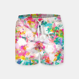 Thumbnail image of Painted Joy Swim Shorts, Live Heroes