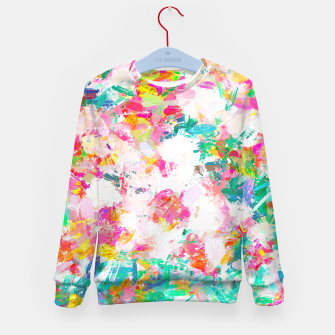 Thumbnail image of Painted Joy Kid's sweater, Live Heroes