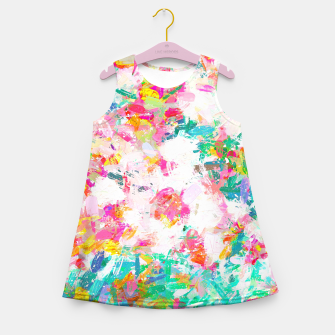 Miniatur Painted Joy Girl's summer dress, Live Heroes