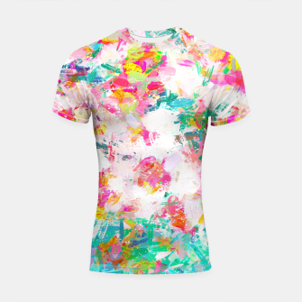 Thumbnail image of Painted Joy Shortsleeve rashguard, Live Heroes
