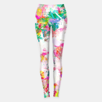 Thumbnail image of Painted Joy Leggings, Live Heroes
