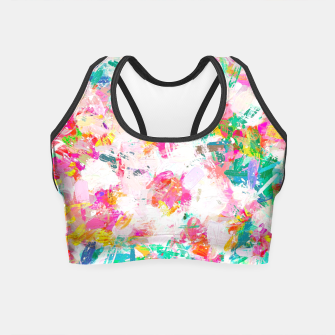 Thumbnail image of Painted Joy Crop Top, Live Heroes