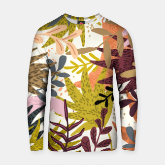 Thumbnail image of Earthy Forest-v2 Cotton sweater, Live Heroes