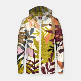 Thumbnail image of Earthy Forest-v2 Cotton zip up hoodie, Live Heroes