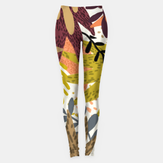 Thumbnail image of Earthy Forest-v2 Leggings, Live Heroes