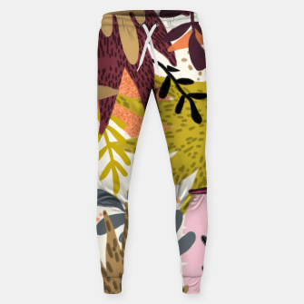 Thumbnail image of Earthy Forest-v2 Cotton sweatpants, Live Heroes