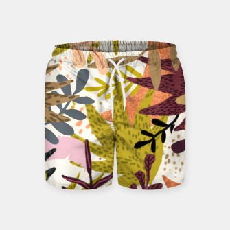 Thumbnail image of Earthy Forest-v2 Swim Shorts, Live Heroes
