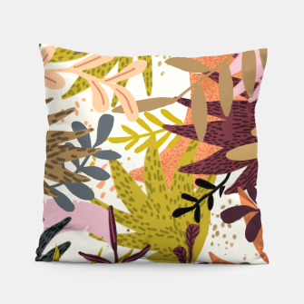 Thumbnail image of Earthy Forest-v2 Pillow, Live Heroes