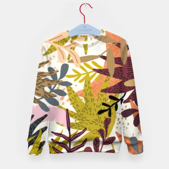 Thumbnail image of Earthy Forest-v2 Kid's sweater, Live Heroes