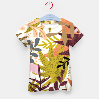 Thumbnail image of Earthy Forest-v2 Kid's t-shirt, Live Heroes