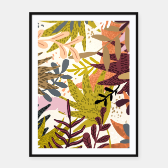 Thumbnail image of Earthy Forest-v2 Framed poster, Live Heroes